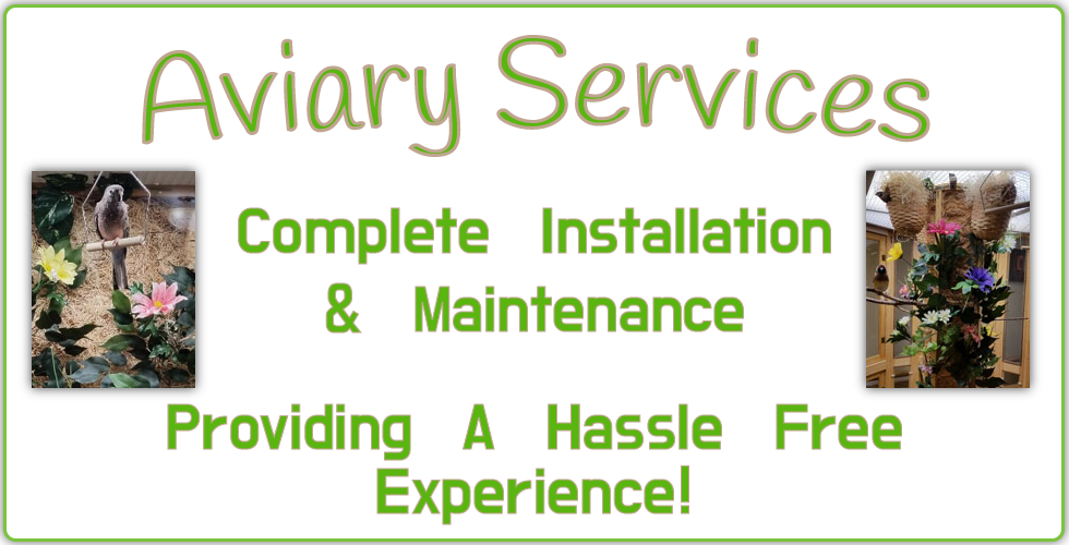 Aviary Services Complete installation and maintenance providing a hassle free experience